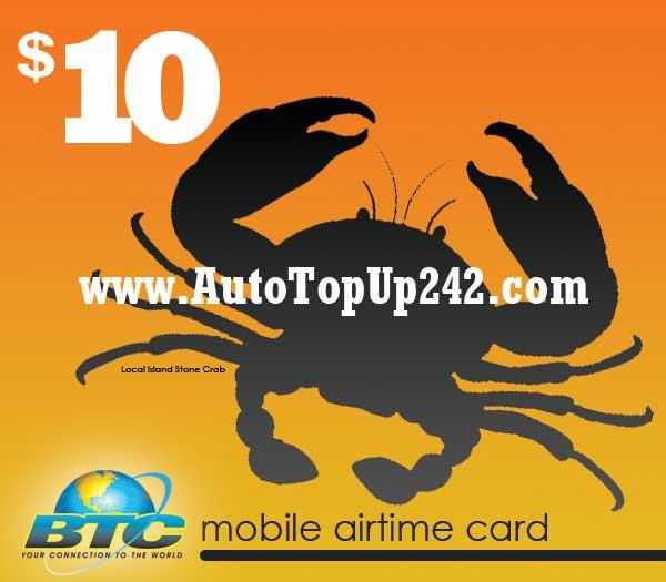 $10 BTC EZ Top Up